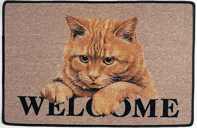 Cats Shop Fussmatte Katze Ginger Cat